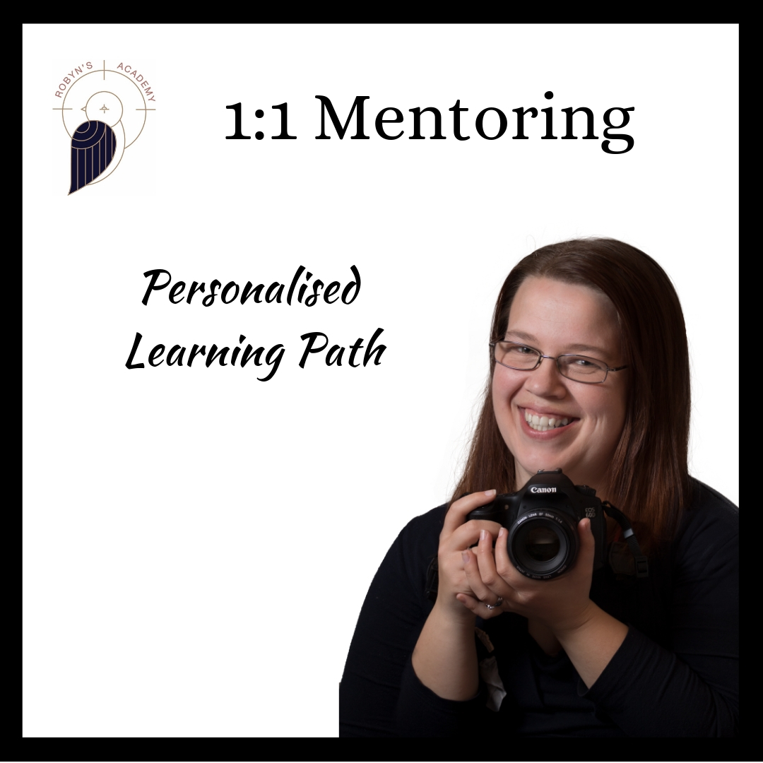One-to-One Photography Mentoring